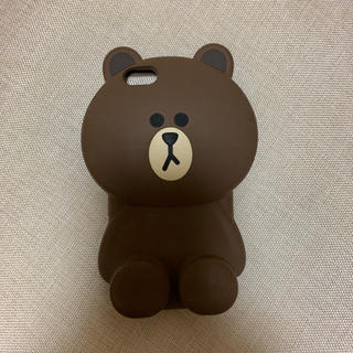 ボウダンショウネンダン(防弾少年団(BTS))のLINEフレンズ☆ブラウン スマホケース(iPhoneケース)