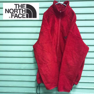 THE NORTH FACE - 【THE NORTH FACE 】ノースフェイス フリース レッド 90s