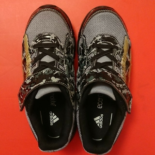 adidas - アディダス20センチ グレー&迷彩