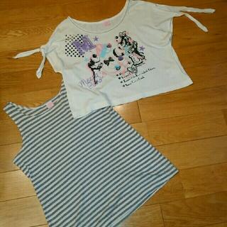 メゾピアノ(mezzo piano)の美品❇メゾピアノ Tシャツ 2枚セット(Tシャツ/カットソー)