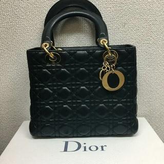 Dior - ★Diorで今大人気のデザイン、レディディオールカナージュバッグ★