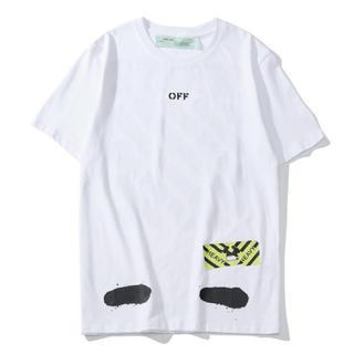OFF-WHITE - off white Tシャツ ホワイト サイズ L