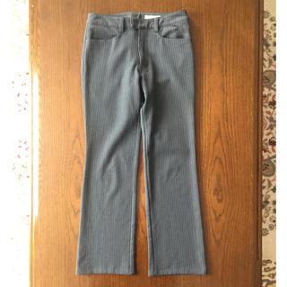 ベルメゾン(ベルメゾン)の《お値下げ》W58 パンツ スラックス グレー ストライプ(スーツ)
