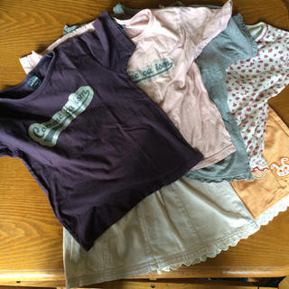 コムサイズム(COMME CA ISM)のまとめ売り コムサイズム半袖シャツ等 5点(Tシャツ/カットソー)