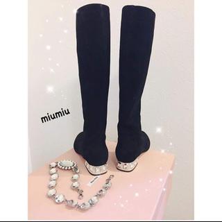 ミュウミュウ(miumiu)のmiumiu  ブーツ💕(ブーツ)