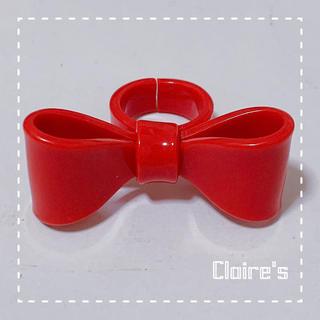 クレアーズ(claire's)の〔Claire's〕リボンリング(リング(指輪))