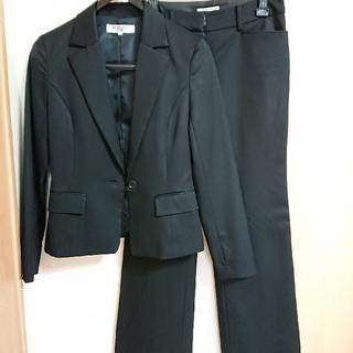ナチュラルビューティーベーシック(NATURAL BEAUTY BASIC)のナチュラルビューティーベーシック スーツ 黒 テーラードジャケット(スーツ)