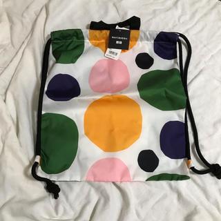 ユニクロ(UNIQLO)のユニクロ マリメッコ ナップサック リュック  バッグ(リュック/バックパック)