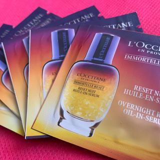 ロクシタン(L'OCCITANE)のロクシタン イモーテル オーバーナイト リセットセラム(夜用美容液)5包(美容液)