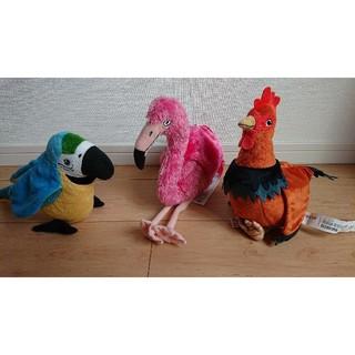 イケア(IKEA)のIKEA 鳥 ぬいぐるみ セット(ぬいぐるみ)