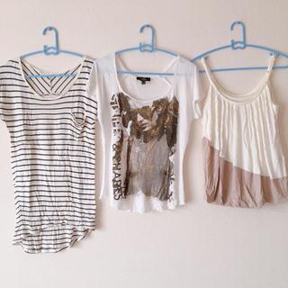 マウジー(moussy)の[お得]トップス ファッション シャツ キャミソール Tシャツ(Tシャツ(半袖/袖なし))