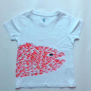 Design Tshirts Store graniph - グラニフ お魚Tシャツ110センチ