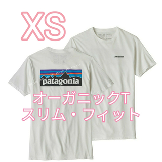 patagonia - ☆新品・未使用☆ XSサイズ パタゴニア P-6ロゴ・オーガニック Tシャツ