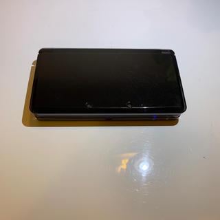 ニンテンドー3DS - 3ds  本体 コスモブラック 中古品