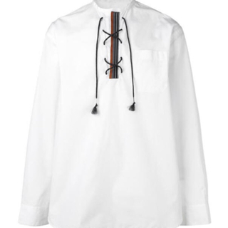 マルニ(Marni)のレースアップシャツ    marni    19SS(シャツ)