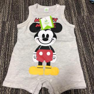 Disney - 値下げ ミッキー ロンパース 70