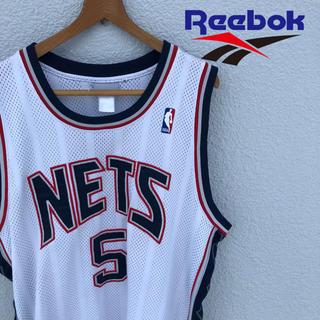 Reebok - NBA NETS ジェイソンキッド Reebok ゲームシャツ