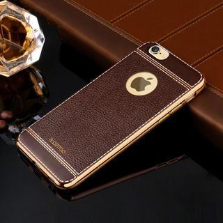 iPhone 6s 4.7インチ ケース【TPU】 コーヒー・ブラウン