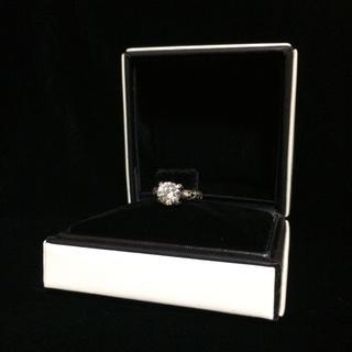 エムズコレクション(M's collection)のM's collection❁︎シルバー&キュービック❁︎一粒リング(リング(指輪))