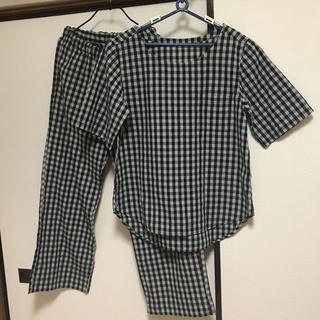 ムジルシリョウヒン(MUJI (無印良品))のMUJI ギンガムチェック パジャマ Lサイズ(パジャマ)