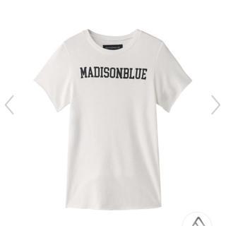 マディソンブルー(MADISONBLUE)のMADISONBLUEの裏起毛 ミニTシャツ(Tシャツ(半袖/袖なし))