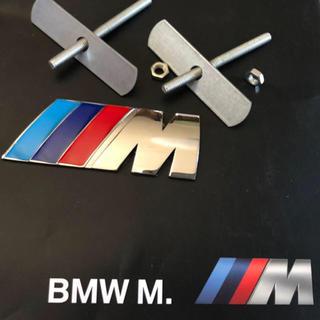 BMW - BMW Mロゴ 3Dメタルフロントグリルエンブレムクロームバッジ 新品未使用