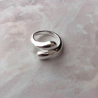 アメリヴィンテージ(Ameri VINTAGE)のsilver925 ドロップリング(リング(指輪))