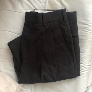 ロキエ(Lochie)の最終値下げ 古着屋 スラックス 茶色 ズボン  美品(スラックス)