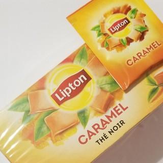 新品 25袋 Lipton Caramel リプトン キャラメル フランス 紅茶