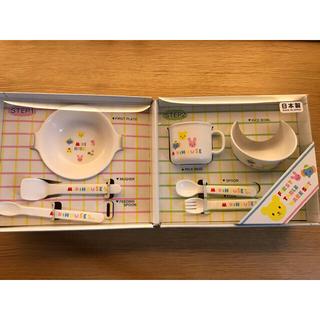 ミキハウス(mikihouse)の【n7tsu様専用】ミキハウス 離乳食用食器セット(離乳食器セット)
