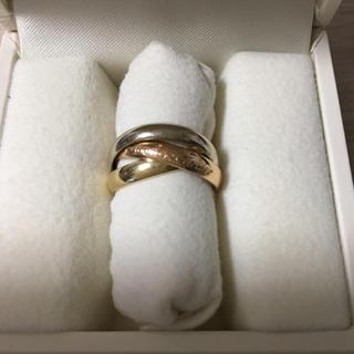 カルティエ(Cartier)のカルティエ   スリーカラー トリニティリング(リング(指輪))