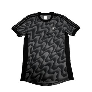 アディダス(adidas)の新品 adidas originals ワープ総柄のスリーストライプ(Tシャツ/カットソー(半袖/袖なし))