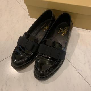 ディエゴベリーニ(DIEGO BELLINI)のディエゴ ベリーニ リボン エナメルローファー(ローファー/革靴)