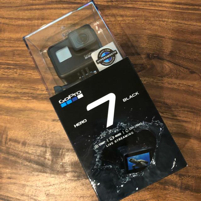 GoPro(ゴープロ)のGopro Hero 7 Black ゴープロヒーロー7ブラック スマホ/家電/カメラのカメラ(ビデオカメラ)の商品写真
