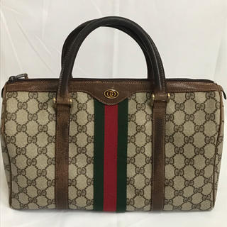 Gucci - GUCCI グッチ ミニボストン 正規品 美品