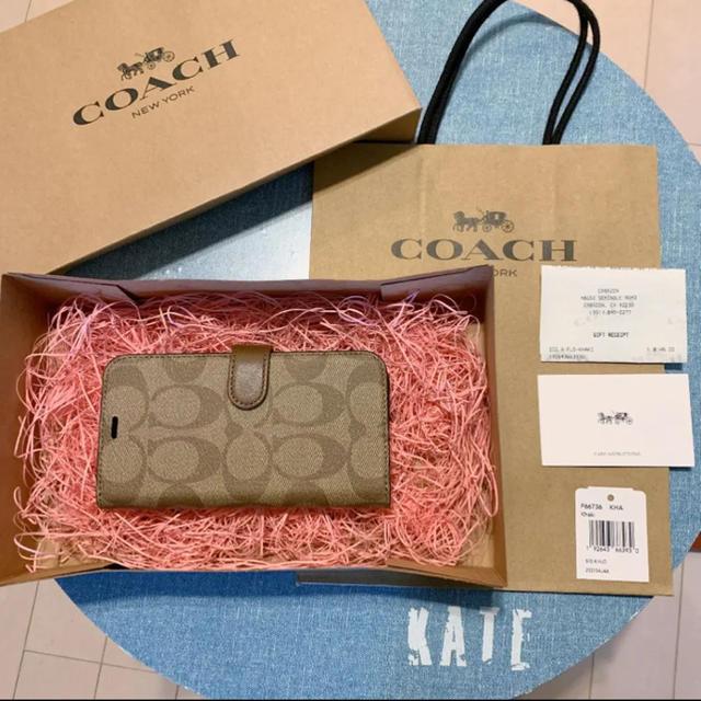 COACH - コーチ 新品未開封 iPhoneケース iPhoneX iPhoneXS 01の通販