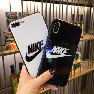 NIKE - 強化ガラス iPhoneケース 高級スポーツ