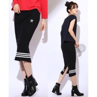 adidas - 美品☆adidas タイトスカート  Sサイズ