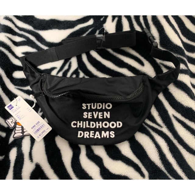 GU(ジーユー)のSTUDIO SEVEN ウエストポーチ&ミニポーチ 専用 メンズのバッグ(ウエストポーチ)の商品写真