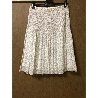 ヨンドシー(4℃)の4°C プリーツ スカート(エストネーション、イエナ、スピックアンドスパン)(ひざ丈スカート)