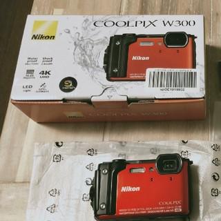 ニコン(Nikon)の【ちゃんさん専用】Nikon ニコン Coolpix w300 オレンジ (コンパクトデジタルカメラ)