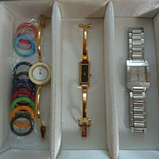Gucci - GUCCI レディース 腕時計 3点セット