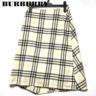 BURBERRY - 美品BURBERRY ロンドンバーバリー スカート