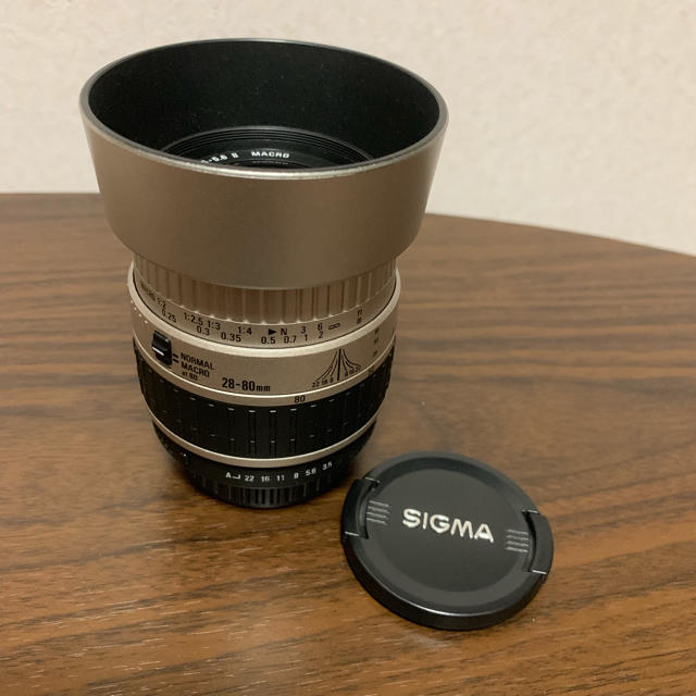 SIGMA(シグマ)のSIGMA MACRO28-80 mm F3.5-5.6 II    スマホ/家電/カメラのカメラ(レンズ(ズーム))の商品写真