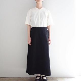 YAECA - the hinoki バイカラードレス
