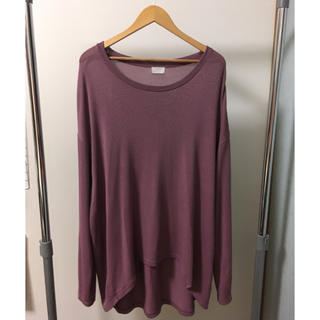 サンシー(SUNSEA)のuru 和紙ロンT(Tシャツ/カットソー(七分/長袖))