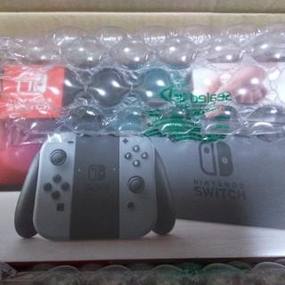ニンテンドースイッチ(Nintendo Switch)のNintendo Switch 新品グレー(携帯用ゲーム本体)