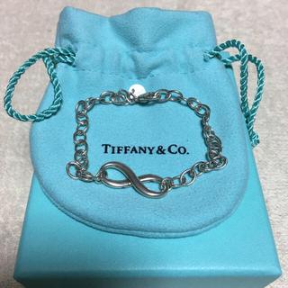 Tiffany & Co. - ティファニーTIFFANY&CO.インフィニティ・ブレスレット・シルバー