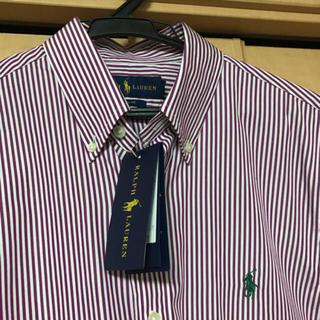 Ralph Lauren - 【新品未使用品】Ralph Lauren  ラルフローレン ストライプシャツ