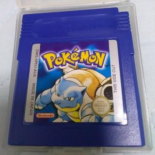 ゲームボーイ(ゲームボーイ)のポケモン 青 ブルー 英語版 ゲームボーイ(携帯用ゲームソフト)